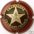 Champagne capsule A1 Contour bordeaux