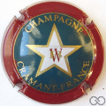 Champagne capsule 3 Petit W rouge