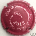 Champagne capsule  Framboise et blanc 2018