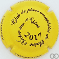 Champagne capsule 16 Jaune et noir 2017