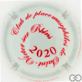 Champagne capsule 16.c Blanc cassé et rouge, 2020