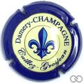Champagne capsule 4 Contour bleu