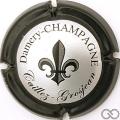 Champagne capsule 6 Contour noir, sans cercle