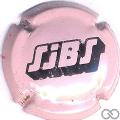 Champagne capsule H3609.n Rose et noir, moyenne écriture
