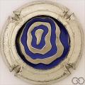 Champagne capsule F3 Insert bleu