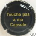 Champagne capsule H10607.a Noir et jaune
