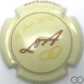 Champagne capsule H7206 Crème et marron
