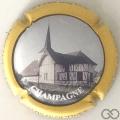 Champagne capsule H8404 Contour jaune
