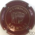 Champagne capsule H3812.a Bordeaux et or