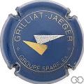 Champagne capsule F9.a Bleu, or et argent