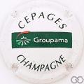 Champagne capsule H5106 Blanc