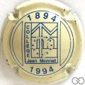 Champagne capsule H2506 Crème et bleu