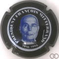 Champagne capsule H7910.f Contour noir, tête bleu
