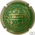 Champagne capsule F18.c Vert et or, striée