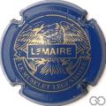 Champagne capsule F16.a Bleu et or