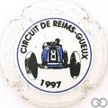 Champagne capsule H9103 Blanc, voiture bleue