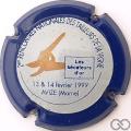 Champagne capsule H9306 Contour bleu