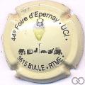 Champagne capsule H3808.b Crème