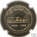 Champagne capsule H1912 Noir et or
