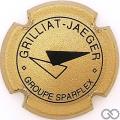 Champagne capsule F9 Or et noir