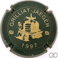 Champagne capsule F10.c 1997, vert foncé et or