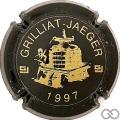 Champagne capsule F10.b 1997, noir et or