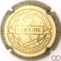 Champagne capsule F18.d Crème et or, striée