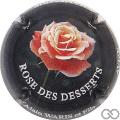 Champagne capsule 10 Rose des desserts