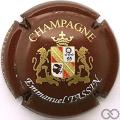Champagne capsule 14.c Fond bordeaux