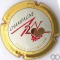 Champagne capsule 29.a Jéroboam, personnalisé sur n° 617, écriture or