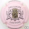 Champagne capsule 34 Fond rose
