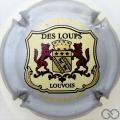 Champagne capsule 31 Contour argent