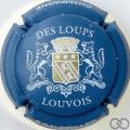 Champagne capsule 37 Fond bleu