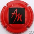 Champagne capsule 7.c Noir et rouge