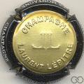 Champagne capsule 3 Estampée or contour noir