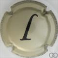 Champagne capsule 16.ah L, or, verso blanc, français