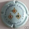 Champagne capsule 2.a Bleu pâle avec strass