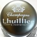 Champagne capsule 9.c Parure gris foncé et blanc