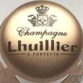 Champagne capsule 9.i Parure or pâle et noir