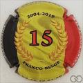 Champagne capsule 53 15 ans, Franco-Belge