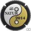 Champagne capsule 45 Le Nature, 2014
