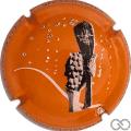 Champagne capsule A7.d Orange