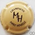 Champagne capsule 17 Crème et noir