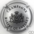 Champagne capsule 7 Argent métallisé et noir