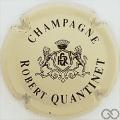 Champagne capsule 8 Crème pâle et noir
