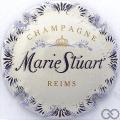 Champagne capsule 11.a Fond crème, lettres fines
