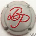 Champagne capsule 10.b Gris pâle et rouge