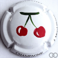 Champagne capsule 24.a PALM, cerises