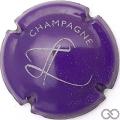 Champagne capsule 4 Violet et gris