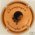 Champagne capsule 24.n Cuivre et noir
